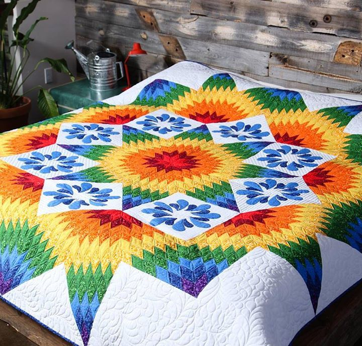 Quilting Project Ideas : 30 best Quilts images on Pinterest Star quilts, Lone star quilt and Quilt designs