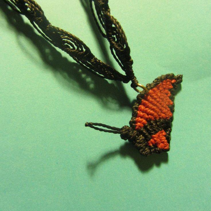 Butterfly macrame/ mariposa de macramé
