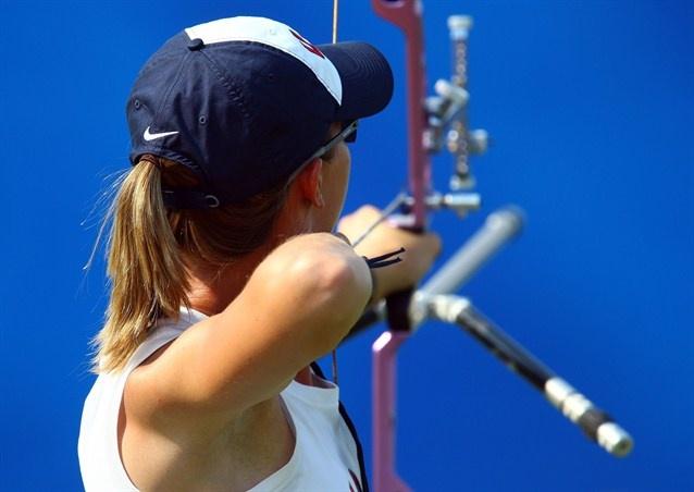 Olympic Archery - Jennifer Nichols in Beijing 2008
