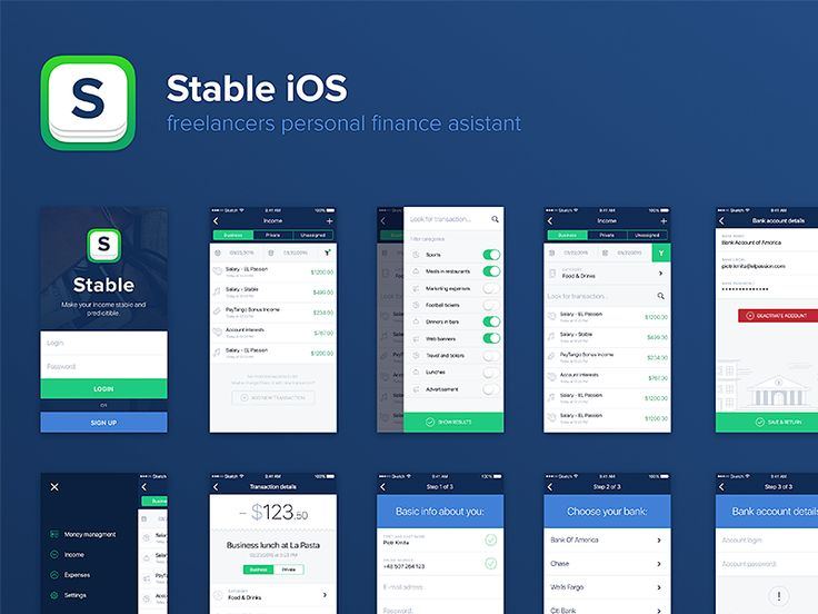 Stable iOS overview by Piotr Kmita for EL Passion