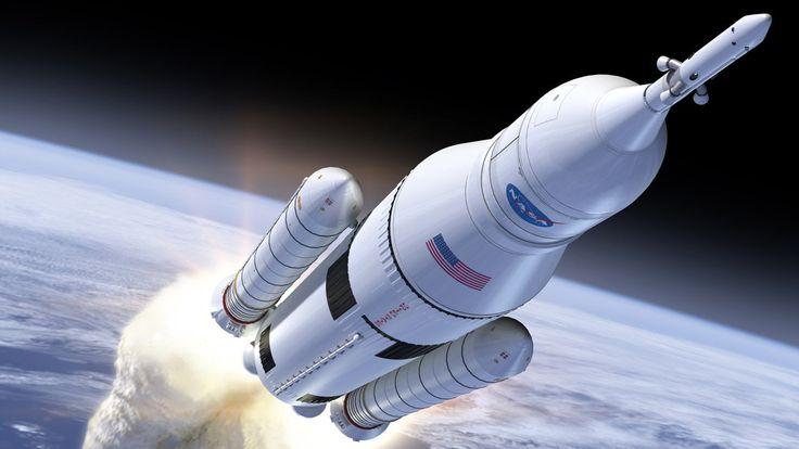 NASA prepara super foguete para trilhar as novas viagens espaciais - http://www.showmetech.com.br/nasa-prepara-super-foguete-para-trilhar-as-novas-viagens-espaciais/
