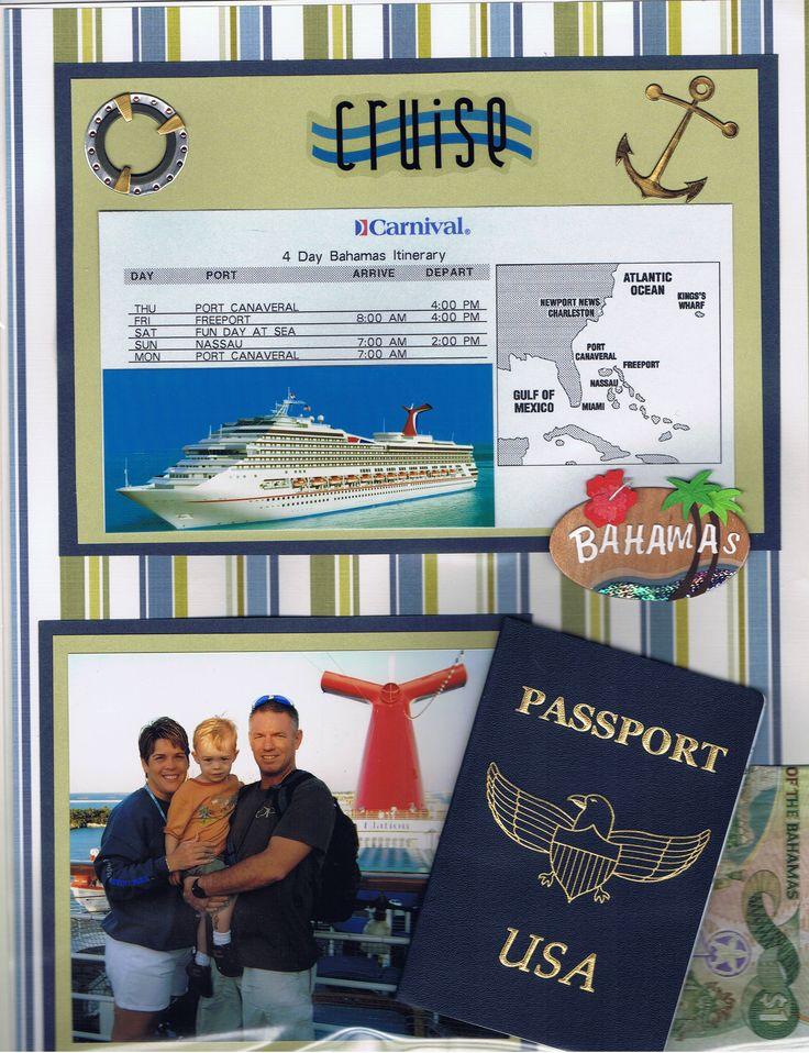 Bahama Cruise - Scrapbook.com