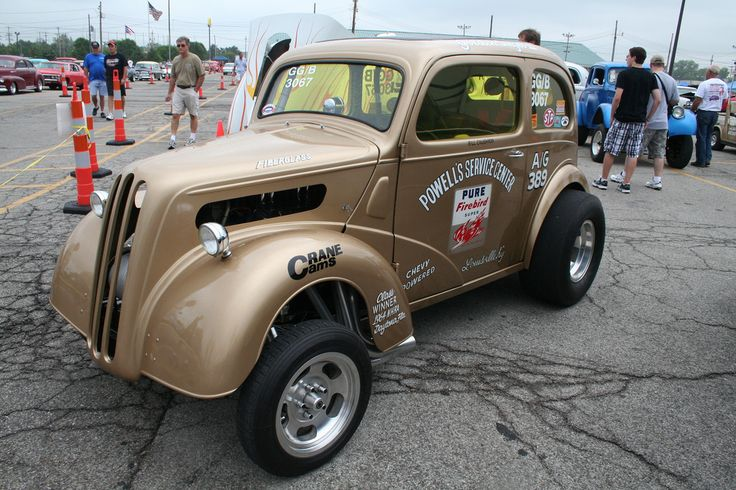 Ford Anglia gasser | Mitch Prater | Flickr