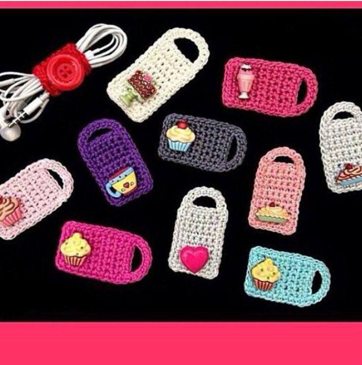 Para arrumar fones de ouvido....Luty Artes Crochet