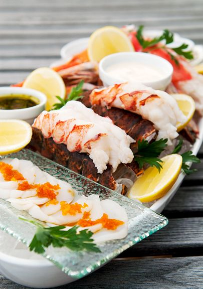 cold seafood platter recipe | use real butter