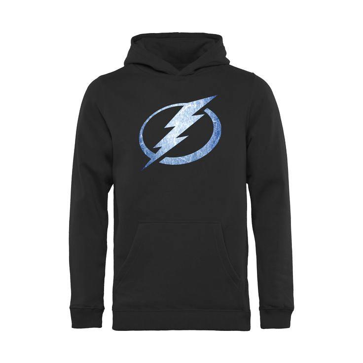 Tampa Bay Lightning Youth Pond Hockey Pullover Hoodie - Black - $49.99
