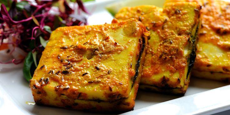 This grilled paneer recipe (Bhagwan paneer) from Alfred Prasad of Tamarind fame is fantastically…