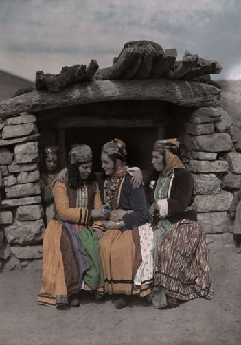 Traditional clothing. Kurdish, region of Van. Ca. 1950.