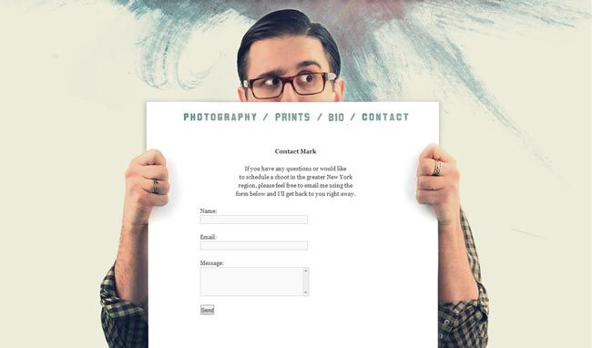 25 Amazingly Creative Contact Forms - Code with Coffee
