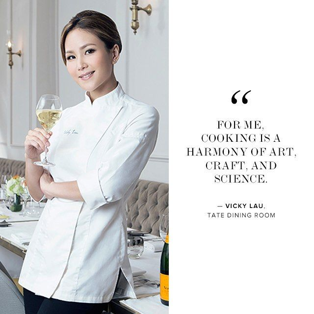 #TBT To That Time Vicky Lau Of Tate Dining Room In Hong