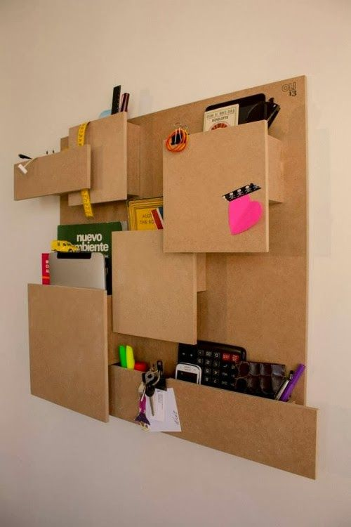 17 mejores ideas sobre organizadores de carton en - Manualidades con muebles ...