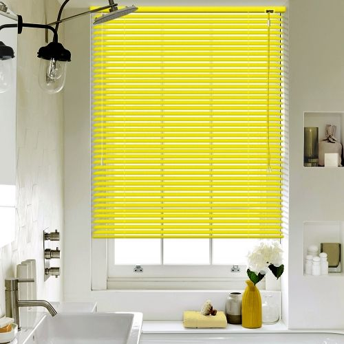 Sun Yellow Venetian blinds