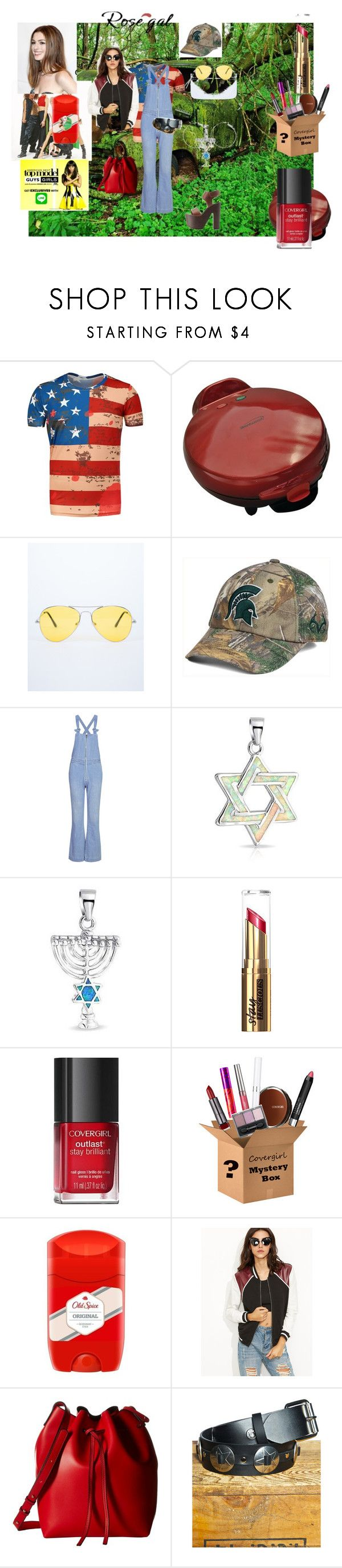"""Win $20 cash from Rosegal.com contest"" by naomig-dix ❤ liked on Polyvore featuring Top of the World, Bling Jewelry, COVERGIRL, Old Spice, Gabriella Rocha, Club Exx, men's fashion and menswear"