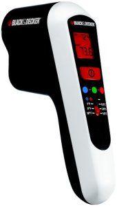 Black + Decker TLD100-XJ Détecteur de fuites thermiques Avec écran LCD et LED 9 V