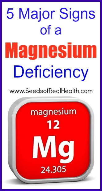 Five major signs of a magnesium deficiency | Health and Beauty | Pinterest | Health, Health fitness and Magnesium deficiency