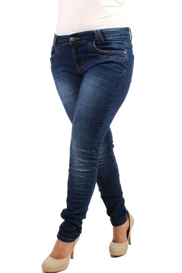 Dámské tmavé skinny džíny - koupit online na Glara.cz  glara  fashion  džíny   dziny  dámskédžíny  damskedziny  jeans  rifle  dámskéjeans  damskejeans ... 0d9c08b270