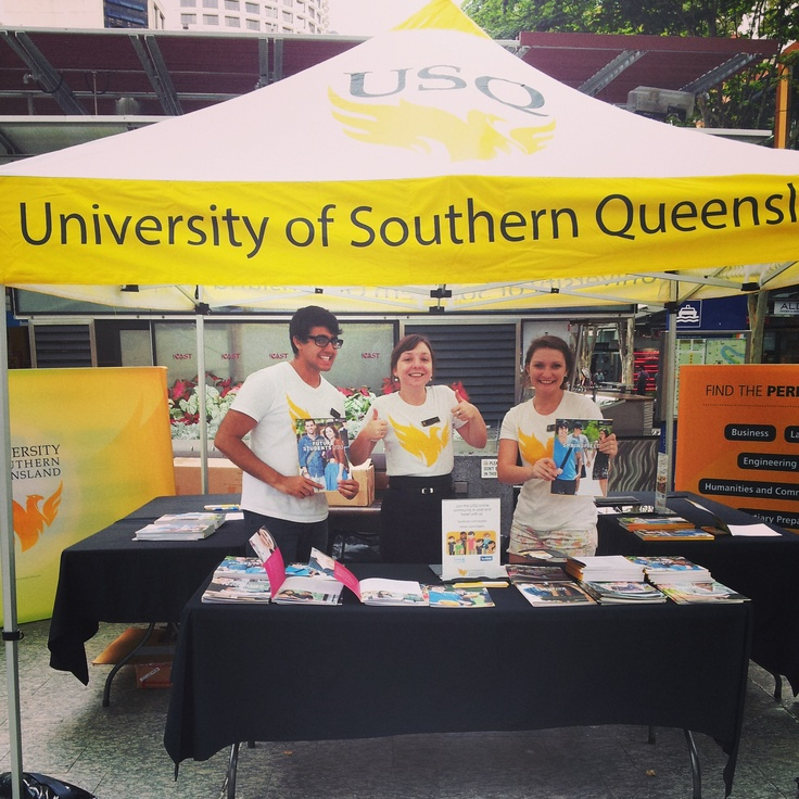 USQ Information Session Brisbane - The USQ Team!  #somuchpride #study #information