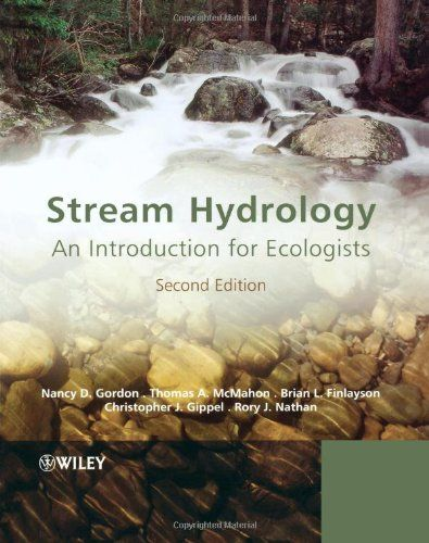 Stream Hydrology: An Introduction for Ecologists by Nancy D. Gordon http://www.amazon.com/dp/0470843586/ref=cm_sw_r_pi_dp_UsH.tb0N9RC8N