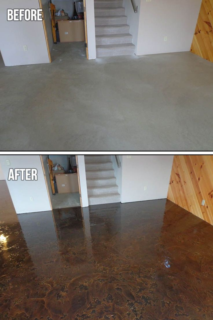 Go for a rustic feel. Tuscan Slate works in about any kind of spaces. The  Concrete Protector protects, repairs and design concrete.