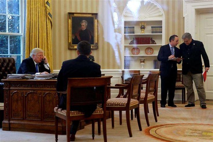 Estrutura de poder propicia conflito entre detentores de diferentes cargos. Conselheiro de Trump surge em posição forte.