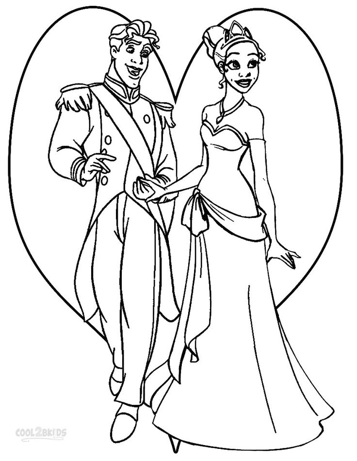 p is for princess coloring pages - photo #10