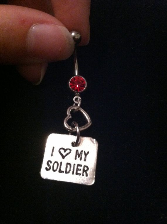 Hey, I found this really awesome Etsy listing at http://www.etsy.com/listing/116084371/i-love-my-soldier-belly-ring