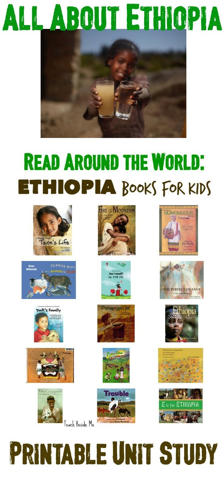 Ethiopia unit study geography for kids