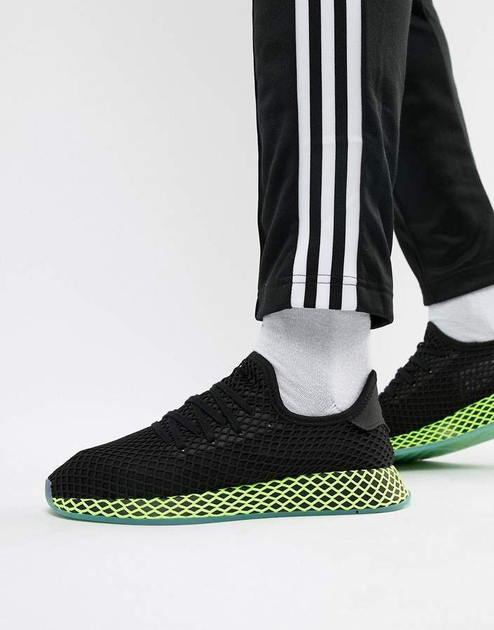 online retailer 99504 05ed6 IF YOU KNOW, YOU KNOW - Check them out now - adidas Originals Deerupt  Sneakers In Black B41755 adidas adidasoriginals sneakers