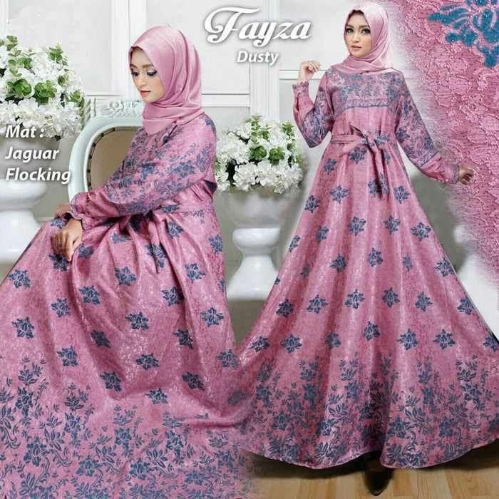 Model Baju Gamis Terbaru 2019 Shopee Model Wanita Baju Muslim