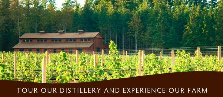 Shelter point distillery -- Cowichan bay.
