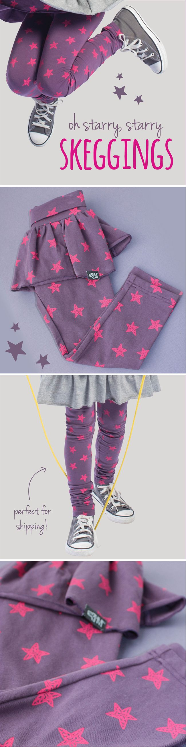 This signature style in violet and neon has us all starry eyed  *_*