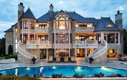 Nice house via The Interiors on Facebook