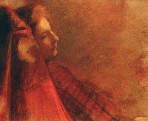 Wojciech Weiss. Dagny Juel Przybyszewska (1899)