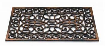 Dørmåtte Inca gummimåtte koppar firkantet - Dørmåtte Inca gummimåtte koppar firkantet - Din tæppekæde.dk