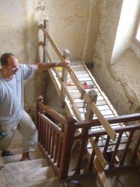 comment fabriquer un echafaudage pour escalier recherche google solution bricolage. Black Bedroom Furniture Sets. Home Design Ideas