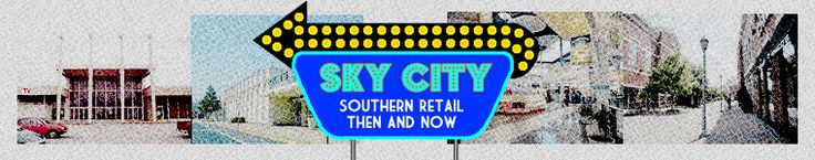 Sky City: Southern Retail Then and Now: regency mall- Augusta, GA. Oh the memories.