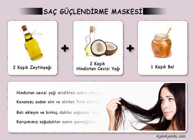 Evde Yapabileceğiniz Saç Bakım ve Güçlendirme Maskesi #sacbakimi #sacmaskesi #sacdokulmesi