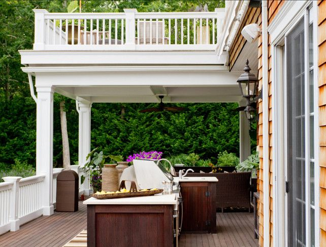17 best images about deck patio on pinterest composite for Simple outdoor kitchen designs