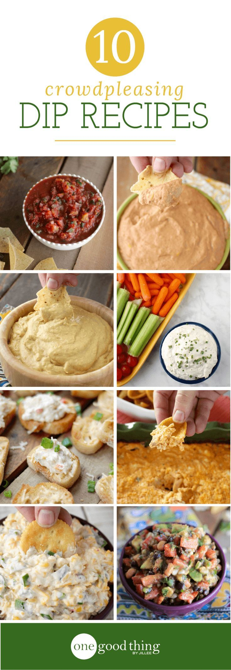 You can never have too many good dip recipes on hand. Any one of these dips is sure to be a hit with your holiday guests!