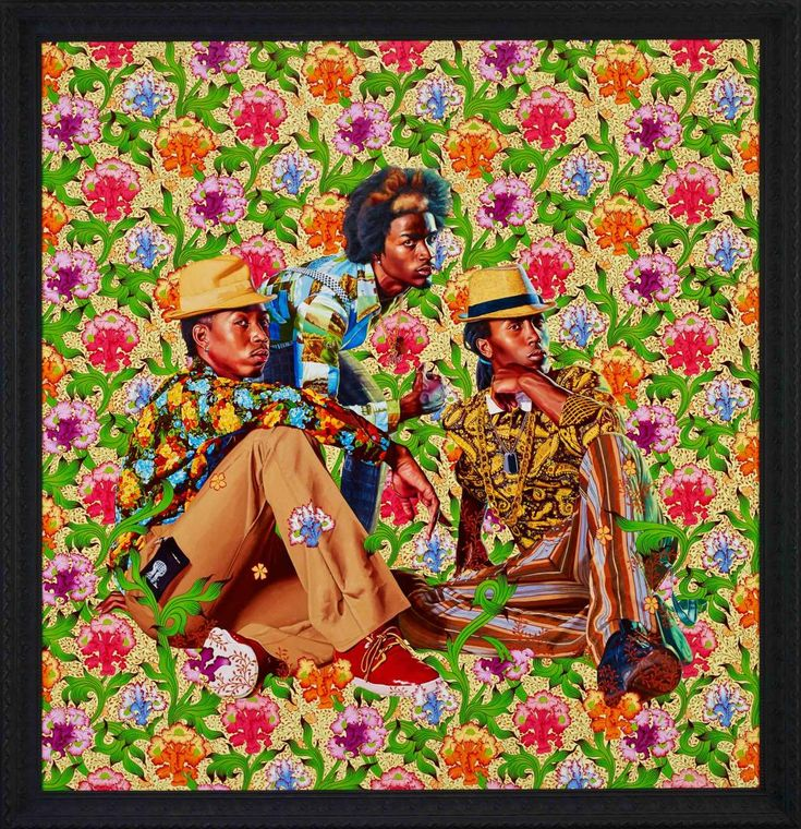 KEHINDE WILEY 'THE WORLD STAGE: JAMAICA' - Three Boys