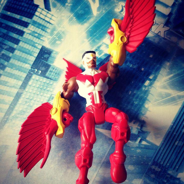 Falcon Marvel Superhero Mashers Avengers