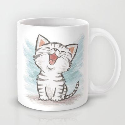 Cat Mug by Toru Sanogawa - $15.00