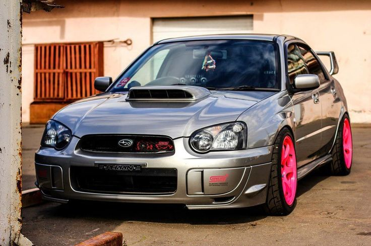 Subaru STI i'd drive it.