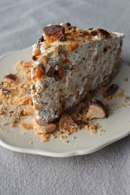 Butterfinger Pie, super easy!