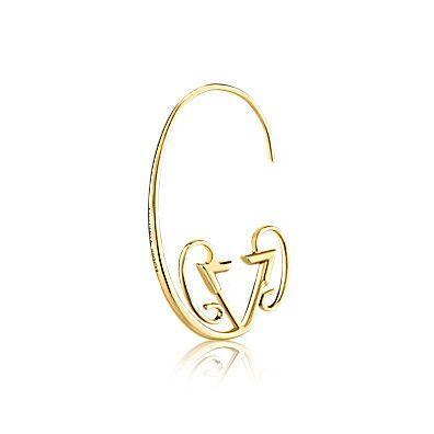 Sternzeichen Ohrring Widder von Louis Vuitton
