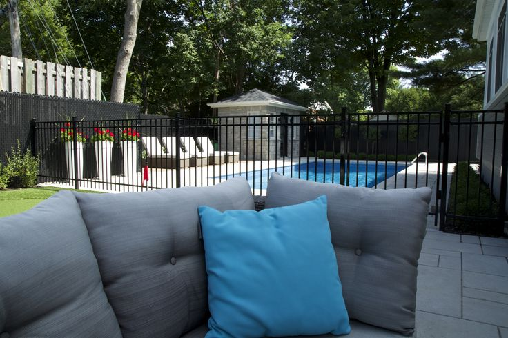 #fence #outdoordecor #fencing #ironfence #pooldesign #swimmingpool