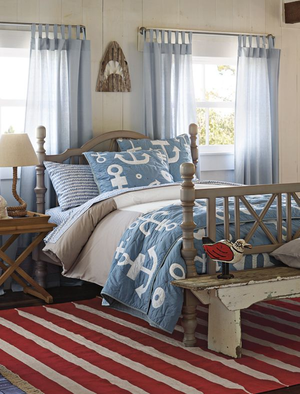 1000+ Images About Beachy Chic Bedding On Pinterest