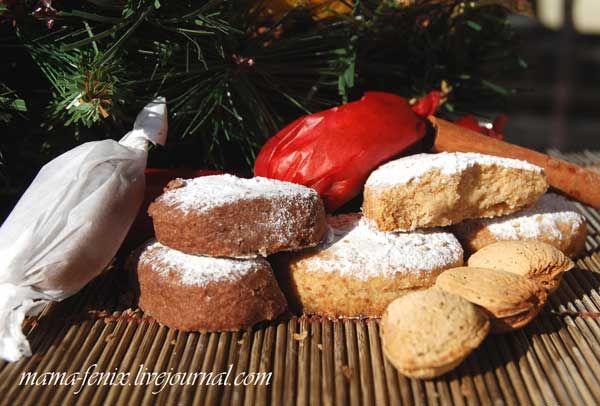 Polvorones de Navidad - рассыпчатое испанское печенье