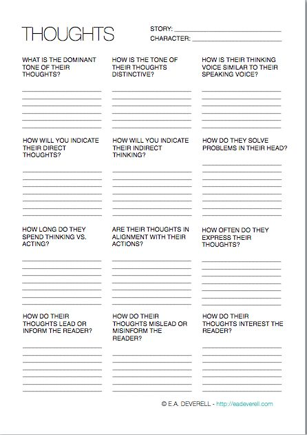 Fetish interest worksheet