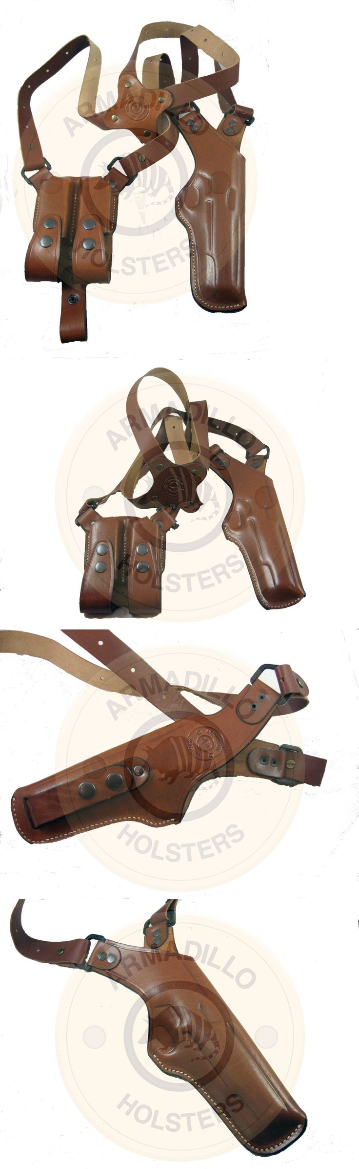 Holsters 177885: Armadillo Tan Leather Vertical Shoulder Holster For 1911 P2v-1911 -> BUY IT NOW ONLY: $71.99 on eBay!